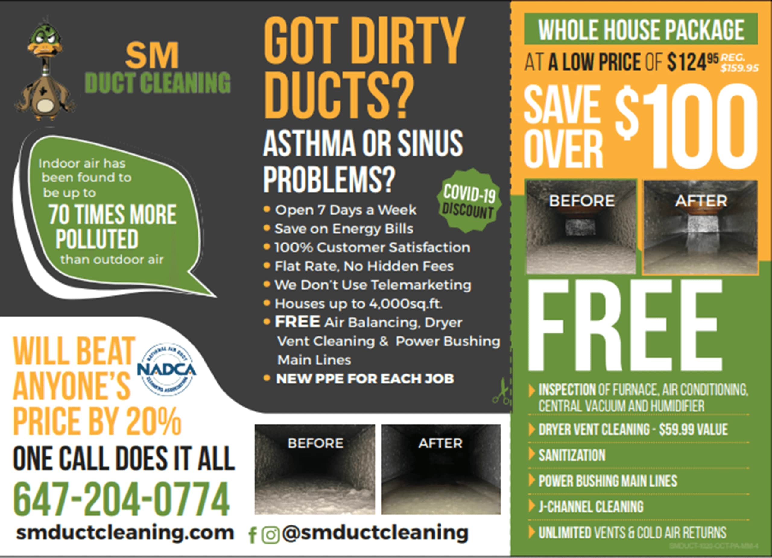 Duct Cleaning in Stouffville